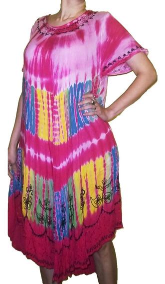 Vestido Blusa Hindú Con Manga Batik Talles Especiales Xxl