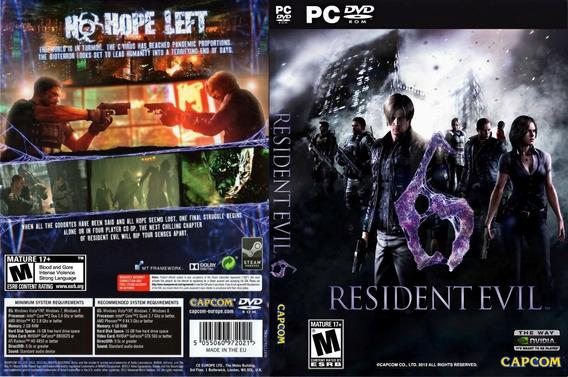 Resident Evil 6 Original | Cd-key Steam |