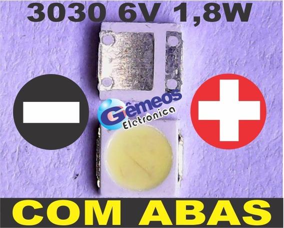 60 Led Smd 3030 6v 1,8w Semp Toshiba 32l2400 40l2400 C/abas