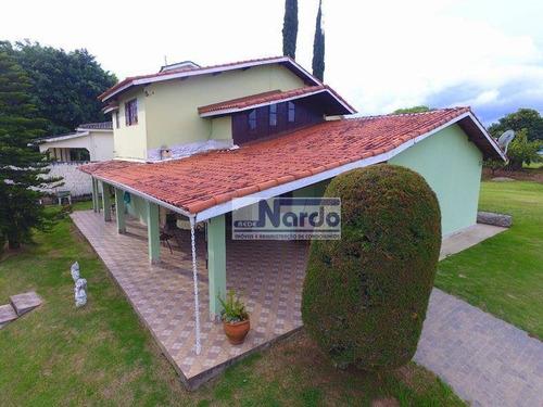 Imagem 1 de 23 de Chácara À Venda Em Bragança Paulista, Pinhalzinho, Loteamento Alto Das Estrelas - Ch0035