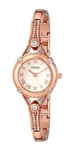 Guess Reloj Inspirado En La Vendimia De Acero Inoxidable Par