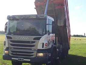 Scania P340 2012 8x4 Con Volcadora Bianchi