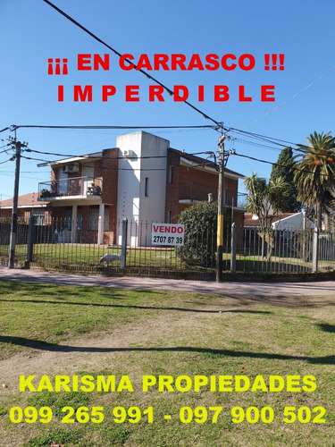Excelente Casa En Carrasco. Amplia Y Moderna. Oportunidad.