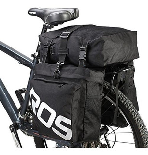 Bolsa Impermeable De Transporte Se Monta En Bicicleta
