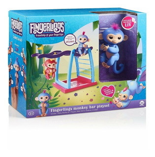 Fingerlings Set De Juegos Original Incluye Baby Monkey