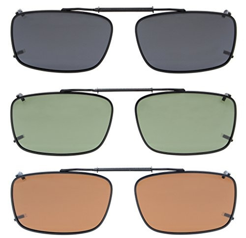 0400dc4bb Eyekepper Gris / Marrón / G15 Lente 3-pack Gafas De Sol P ...