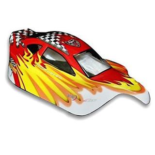 Redcat Racing Buggy Body (1/10escala), Color Rojo/amaril