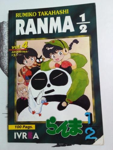 Ranma 1/2 Volumen 4 - Takahashi - Ivrea 1999 - U