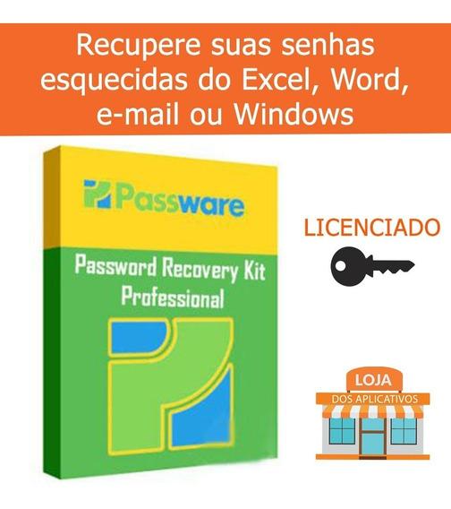 Passware Password Recovery/recupera Senhas Do Word,exel,win