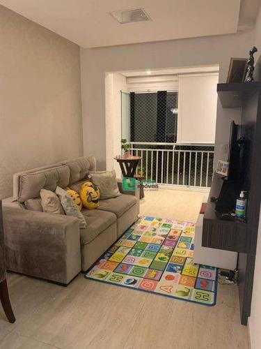 Apartamento Com 2 Dormitórios À Venda, 62 M² Por R$ 400.000,00 - Vila Leonor - Guarulhos/sp - Ap1370