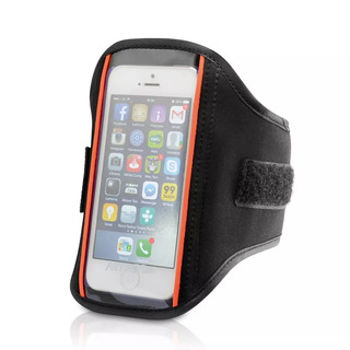 Lote 50 Braçadeiras Celular iPod Neoprene 15x14cm - Atacado