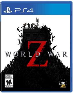 World War Z - Juego Fisico Ps4- #sniper.cl
