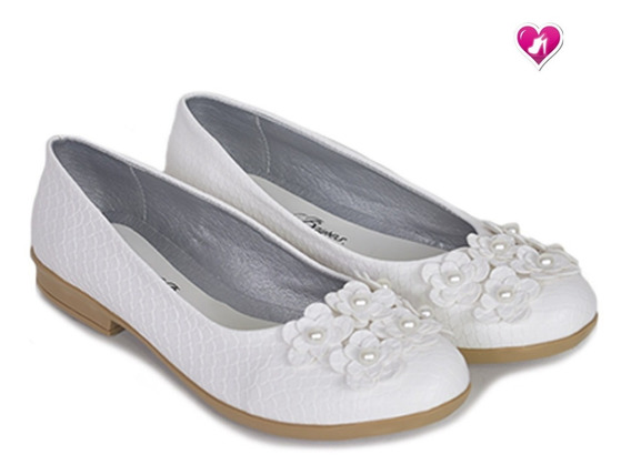 Mocasin Chatita Comunion Model Margarita De Shoes Bayres