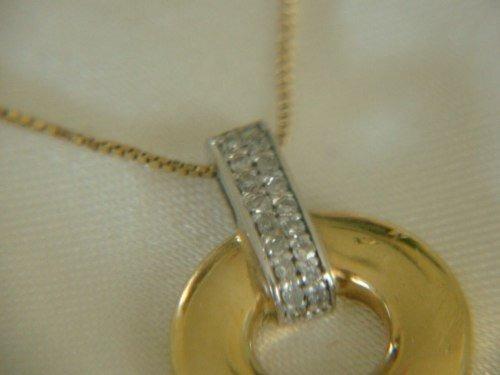 Ivi1388 = Colar Vivara Pingente O.amarelo 18k ! Diamantes!