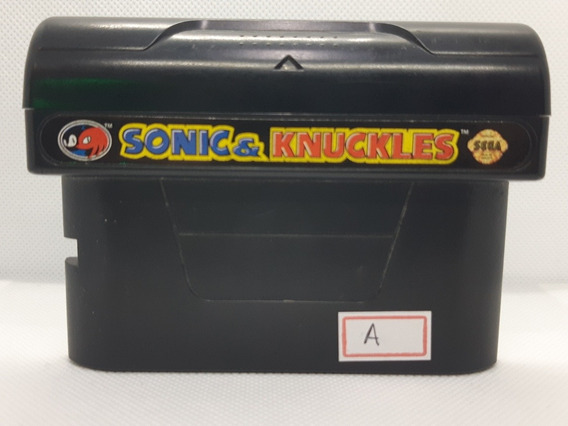 Sonic And Knuckles Original Sega Mega Drive Genesis Refa