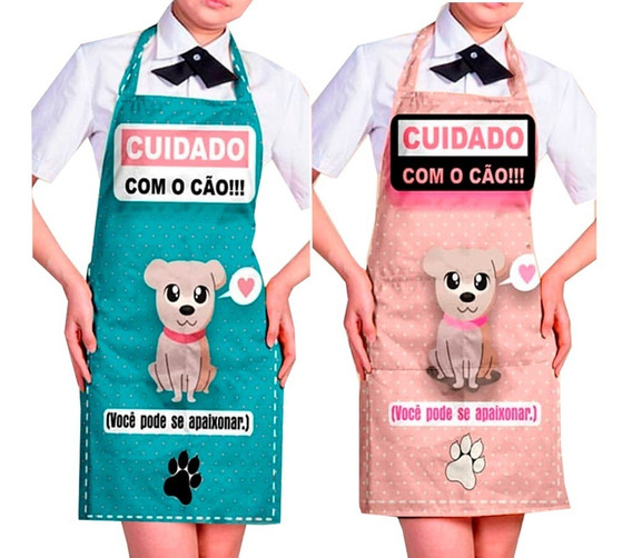 Kombo 2 Avental Jaleco Impermeável Banho E Tosa Pet Shop