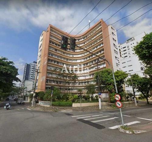 Imagem 1 de 13 de Apartamento Com 2 Dorms, Ponta Da Praia, Santos - R$ 390 Mil, Cod: 2716 - V2716