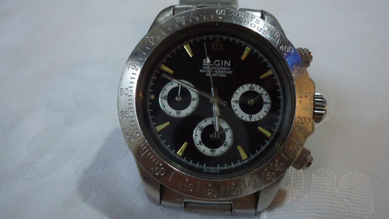 Relogio Elgin Chronograph Water Resistant 660ft 200 Mts