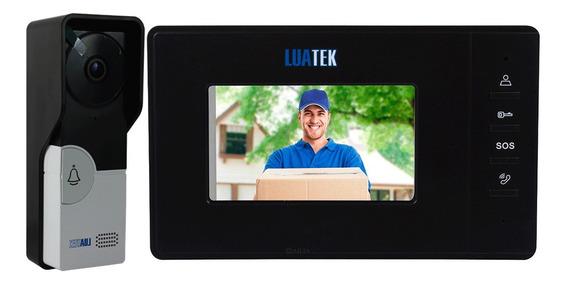 Porteiro Eletrônico Com Vídeo 7 Polegadas Luatek Lkm-1103