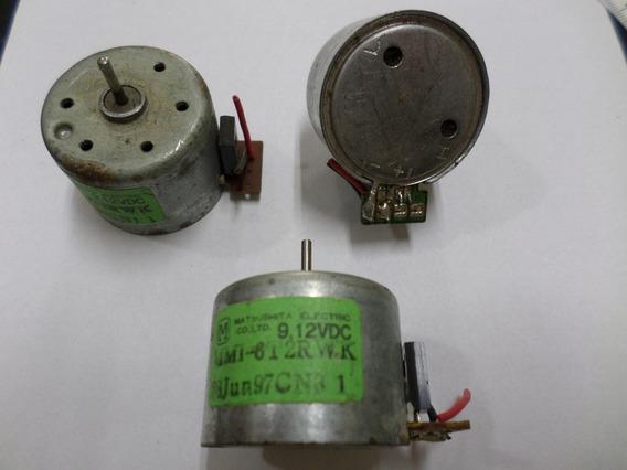 Motor 9/12v - Mmi-6t2rwk C/ Regul. Horaria/anti-horaria S/ Polia