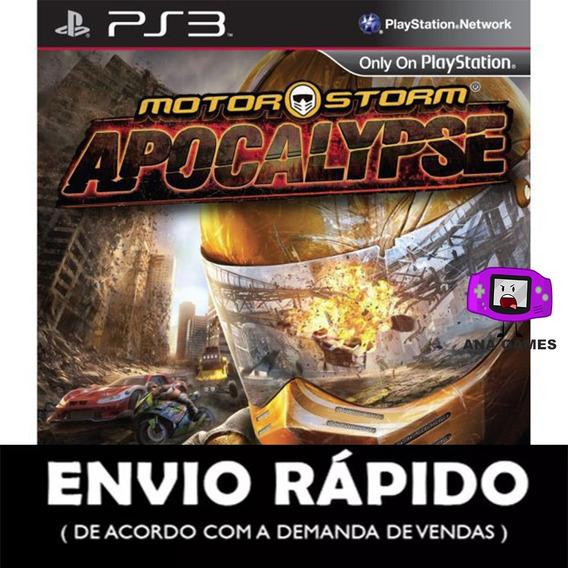 Motorstorm Apocalypse Ps3 - Jogo Digital