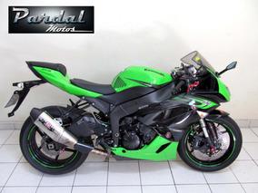 Kawasaki Zx6 R 2011 Verde