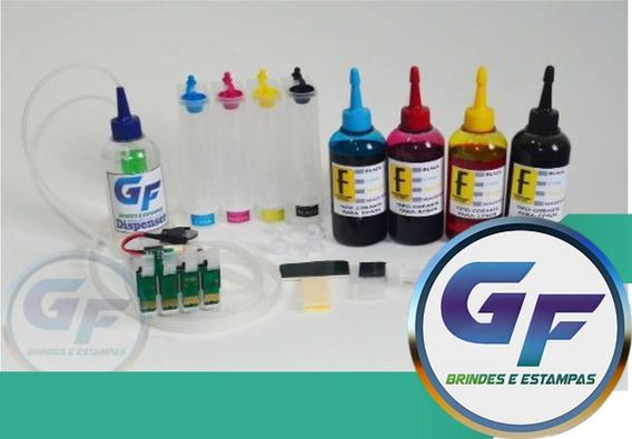 Bulk Ink Xp 214, Xp 401 E Xp204 + 400ml De Tinta + Dispenser