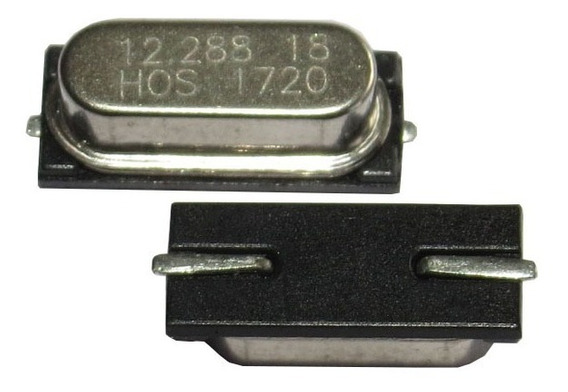 Cristal Oscilador 12.288mhz Kit C/ 10 Pçs