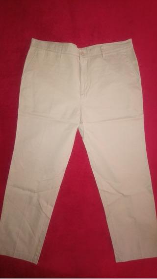 Pantalon De Vestir Lacoste Hombre Color Camel - Talle 52