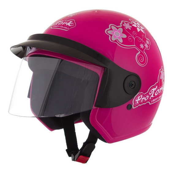 Capacete Moto Feminino Liberty 3 For Girls Pro Tork