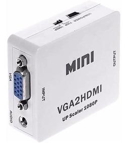 Conversor Adaptador Vga Para Hdmi Com Saida De Audio Cabo P2