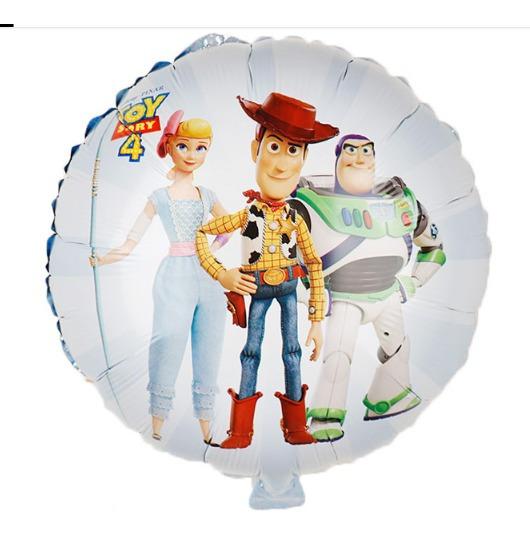 Paquete 20 Globos Toy Story 45 Centimetros. Buzz Woody Jessy