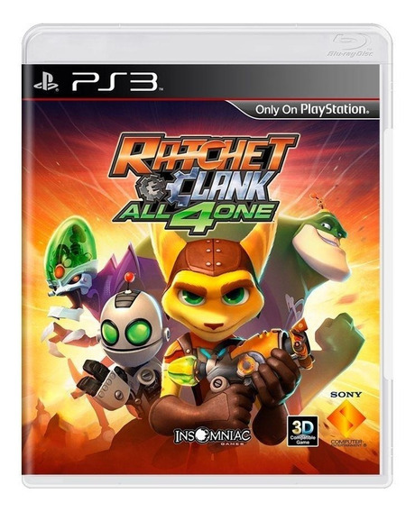 Ratchet E Clank All 4 One Ps3 Mídia Física Pronta Entrega