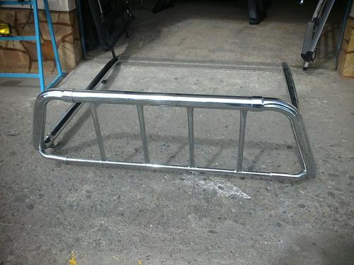 Roll Bar Niquelado  Universal Dmax Mazda Sobreruedas