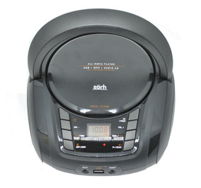 Radio Fm Estéreo Cd Mp3 Player Usb Bivolt Zorh Boombox
