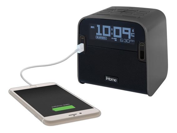 Radio Reloj Despertador Con Altavoz Ihome
