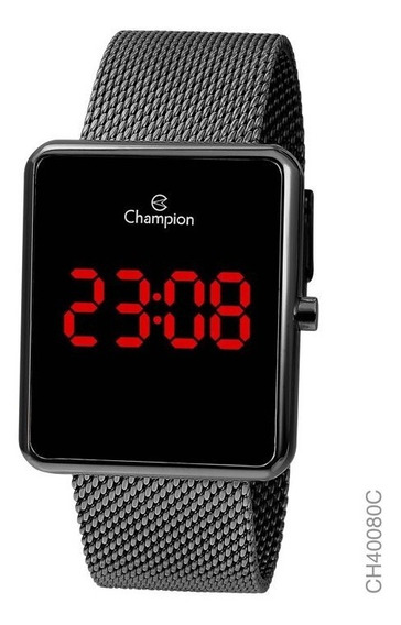 Relógio Pulso Digital Champion - Ch40080c