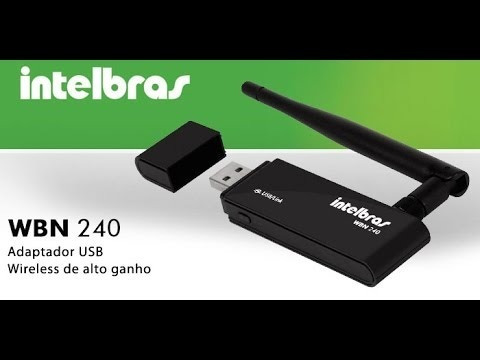 Adaptador Usb Wireless Wbn 240 Intelbras