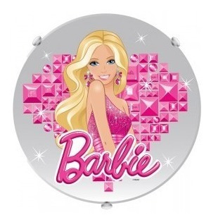 Plafon Redondo Barbie Startec
