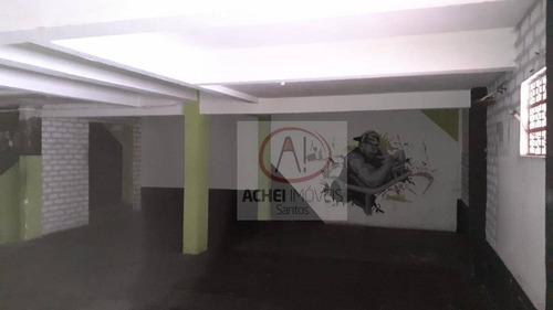 Loja, 145 M² - Venda Por R$ 630.000,00 Ou Aluguel Por R$ 4.000,00/mês - Centro - São Vicente/sp - Lo0047