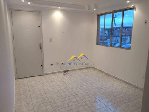 Imagem 1 de 8 de Apartamento Com 2 Dormitórios Para Alugar, 45 M² Por R$ 850,00/ano - Vila Popular - São Paulo/sp - Ap0221