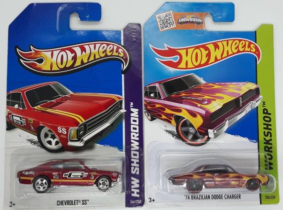 Hot Wheels Brasileiros: Chevrolet Opala Ss + Dodge Charger