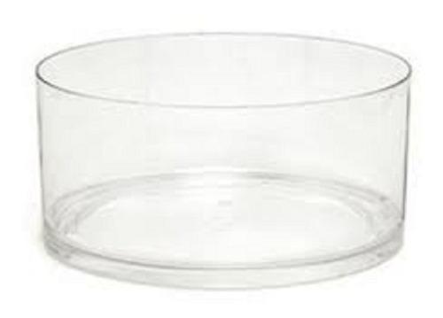 Ensaladera Bowl  Frutera Acrilico Doble Base