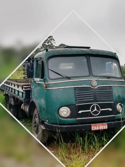 Caminhao Mercedes Bens, Modelo Lp 321 - Ano 1.959, Toco.