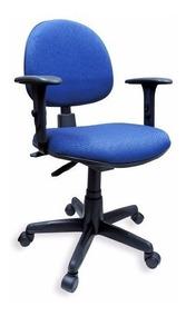 Cadeira Executiva Ergonômica Back System Nr17 Azul