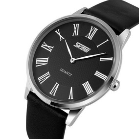 Relógio Masculino De Quartzo Skmei 9092 Analógico Preto