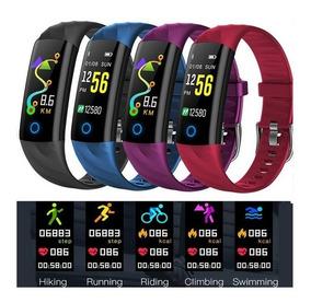 Relógio Smartband S5 Pressão Arterial E Monitor Cardíaco