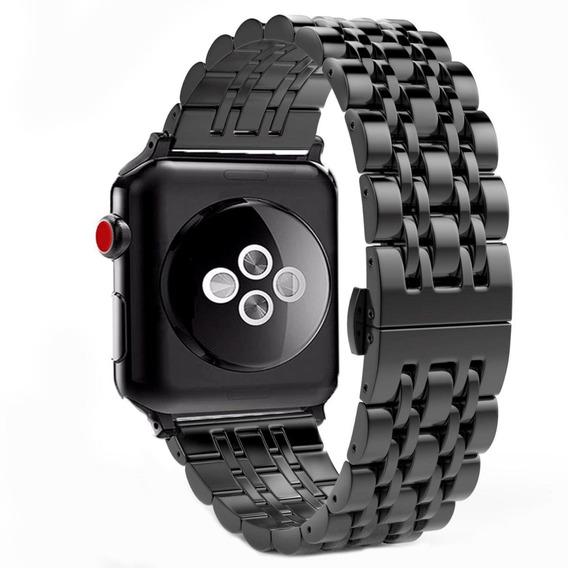 Correa D Eslabones Butterfly Black Apple Watch Serie 4