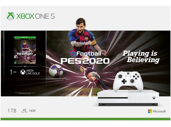 Console Xbox One S 1tb Nacional Com Nf E Garantia Oficial