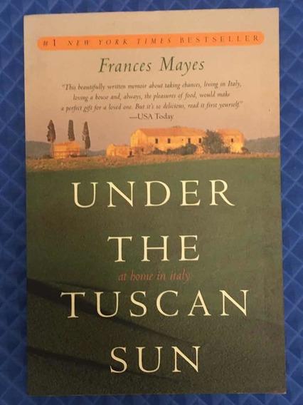 Livro under The Tuscan Sun - Usado/perfeito - Em Inglês.
